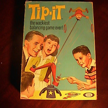 TIP IT! The Wackest Balancing Game Ever 1965 Mattel