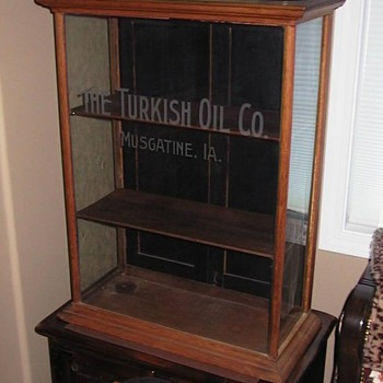 Turkish Oil Company,  Muscatine Iowa piece
