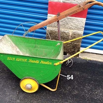 "Keen Kutter ""Handy Hauler"" Wheelbarrow"