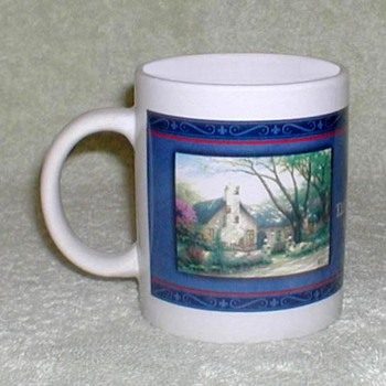 "Coffee Mug - ""Morning Glory Cottage"" - Kitchen"