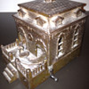 Bronze Dog House Piggy Bank