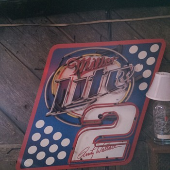 Miller Lite Rusty Wallace - Breweriana