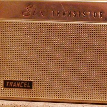 Trancel Transister Model  T-11 1962 With Case - Radios