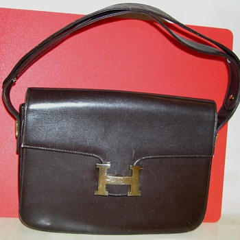 Is This a Real Vintage  Constance Hermes Bag