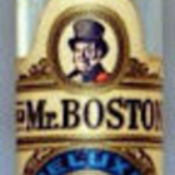 Old Mr Boston Thin Man #13 - Bottles