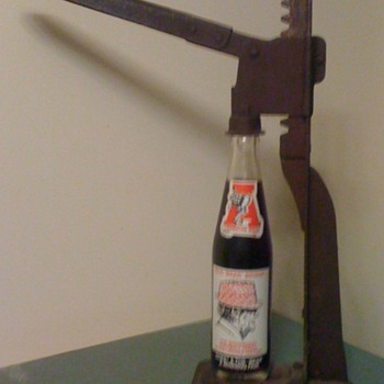 Table Top Mounted Bottle Opener - Breweriana