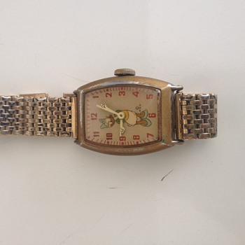 1947 Ingersol Disney Daisy Duck Wristwatch