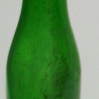 Green Coke bottle Roswell NM  - Coca-Cola