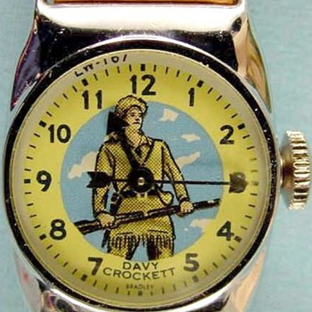 Bradley Davy Crockett Watch 1958 - Wristwatches