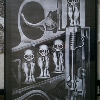 H.R. Giger poster - Posters and Prints
