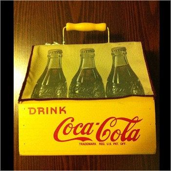 1941 Coca-Cola Wooden Bottle Carrier?