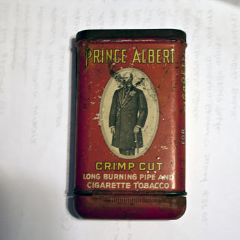 Prince Albert Tobacco Tin  - Tobacciana