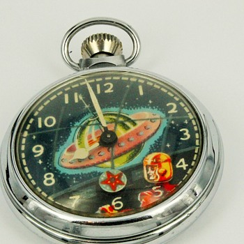 "Ingersoll/LTD ""From Outer Space"" Pocket Watch"