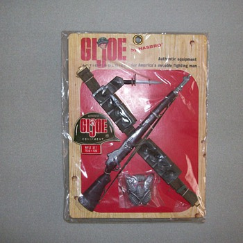 1960's G.I. Joe Equipment Set (Action Soldier) - Toys