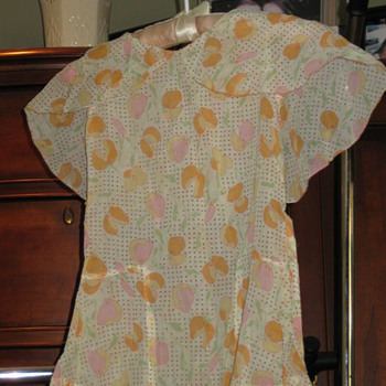 Two Darling Vintage Childrens Dresses-