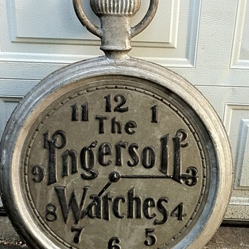 Ingersoll Watch Sign - Signs