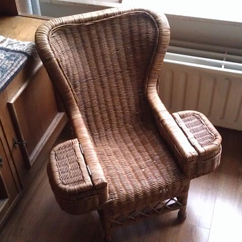 Child's Rattan Chair - Anyone Know Its Use? - Furniture