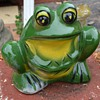 Another Frog Planter