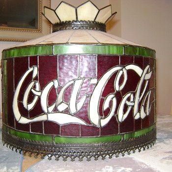 Coca Cola hanging lamp shade