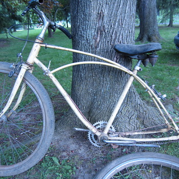 Steel bike frame - Sporting Goods