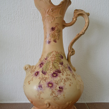 Fieldings Crown Devon ewer  - Art Pottery