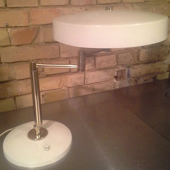 1950s to 60s table lamp...