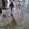 Glass crystal set