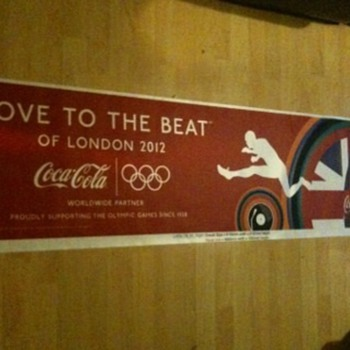 Coca-Cola advertise the Olympics 2012