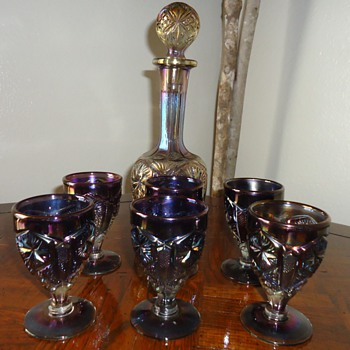 Info Needed about Decanter Set and Glasses