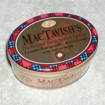 MacTavish&#039;s Candy Tin - Advertising