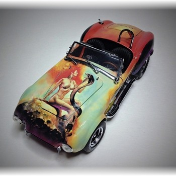 "1966 Shelby Cobra 427 SC ""Mistress of Fire"" Diecast"