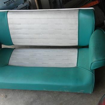 vintage bench seat