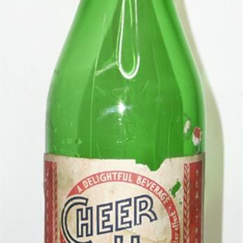 Cheer Up Soda Bottles - Bottles