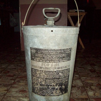 Old H.D. Hudson Fire Extingisher - Firefighting