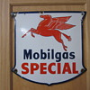 1946 Mobilgas Pump Sign