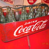 1950's  Coca-Cola Metal Vendors' Bottle Carrier