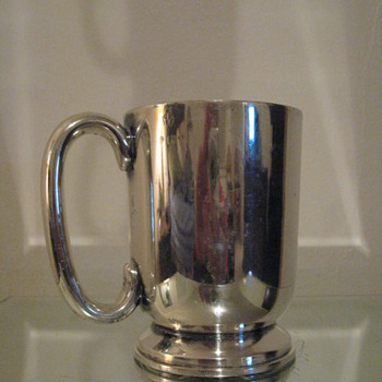 ELKINGTON PLATE MUG 1 PINT SILVERPLATED