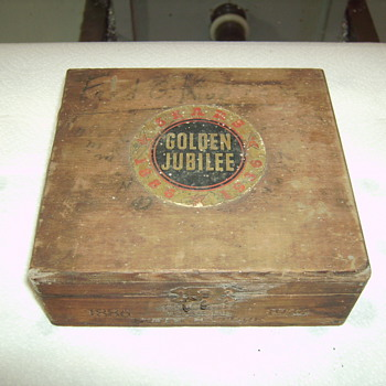 Sears Golden Jubilee Cigar Box - Tobacciana
