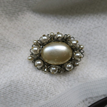 Brooch from USSR - Costume Jewelry