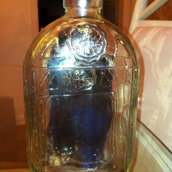Prohibition era medicinal whiskey bottle???