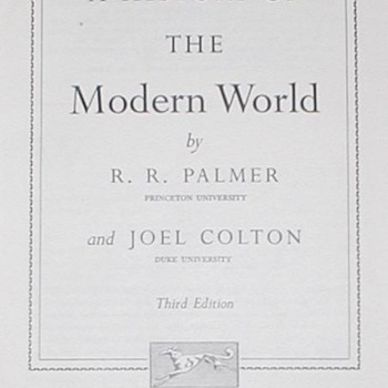 1969 A History of the Modern World - Books