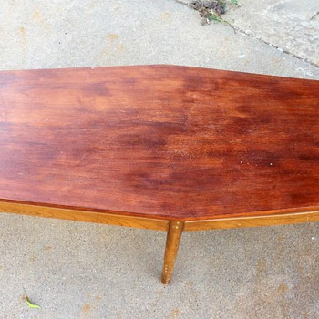 Huge mid-century coffee table