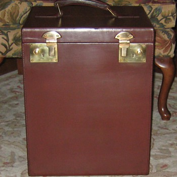 Vintage English Made Hat Trunk (Updated)