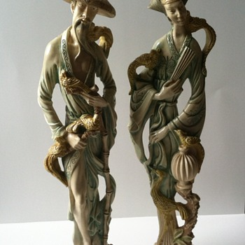 Norleans Italy Figurines