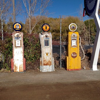 Proud old pumps - Petroliana