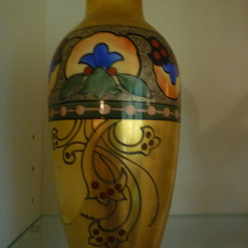 Painted Vase - China and Dinnerware