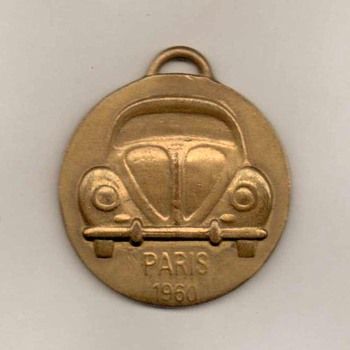 1960 - Paris Auto Show VW Beetle Keyfob