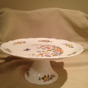 Cake Plate by Aynsley - China and Dinnerware