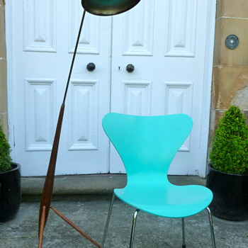 50's French floor lamp?