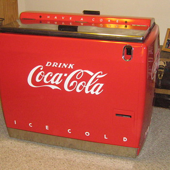 1940&#039;s Coke Water Bath Cooler 